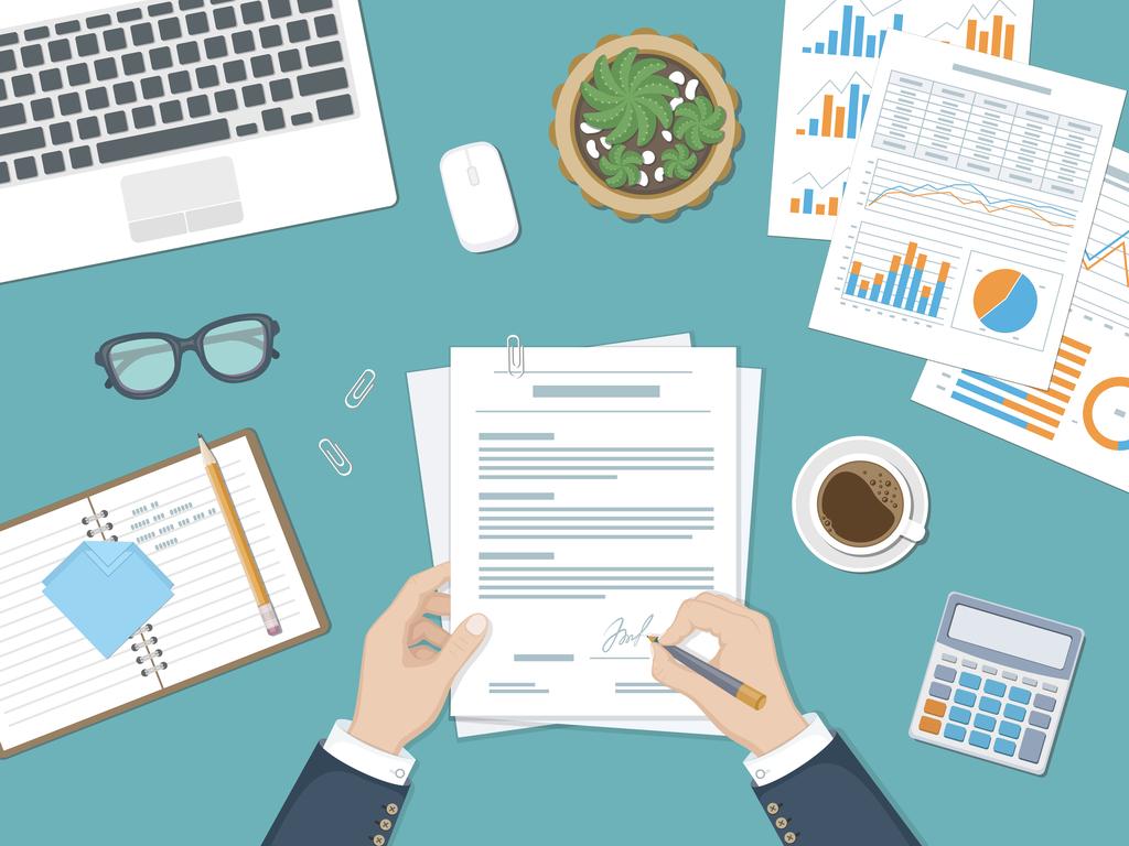 Financial writing