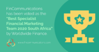 FinCommunications wins